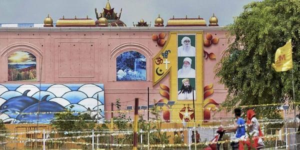 A view of the Dera Sacha Sauda headquarters in Sirsa (File   PTI)