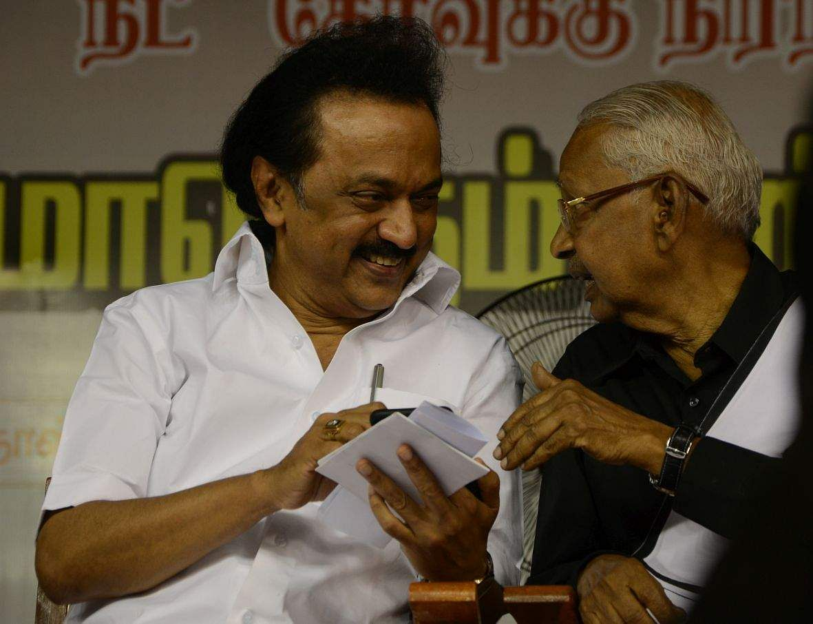 Image result for What is the outcome of all previous I-T searches in TN, asks Stalin