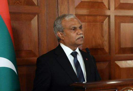 Maldives Foreign Minister Mohamed Asim arrives in India on three-day visit