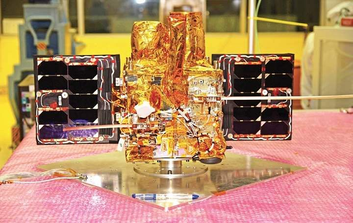 ISRO hits century; Launches Cartosat 2 series Sat, 30 others