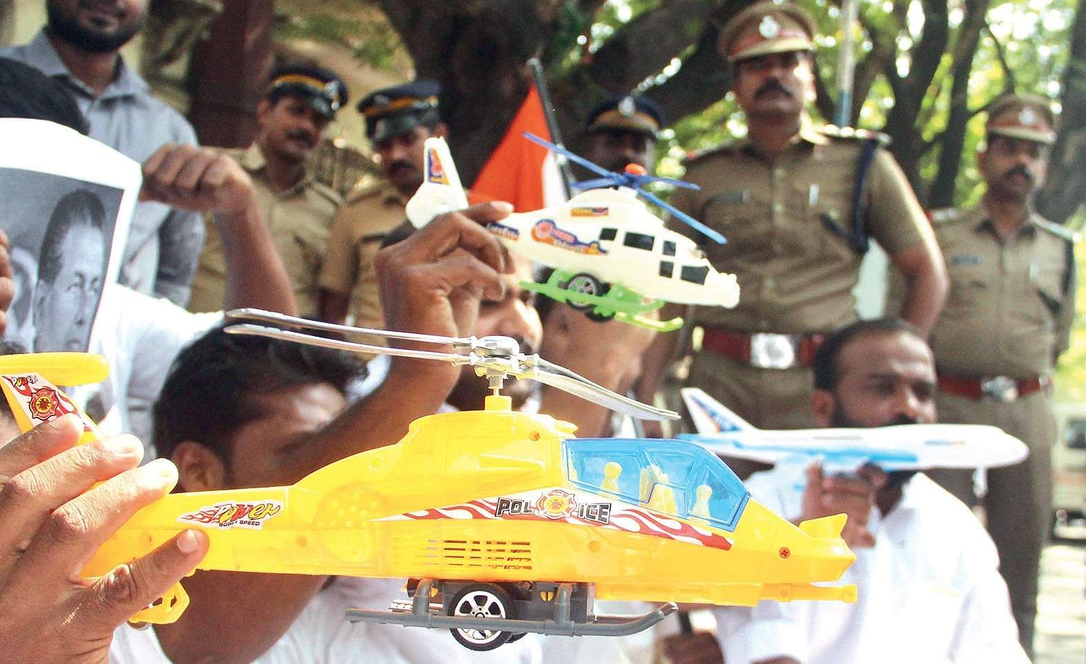DGP clarifies on CM's chopper ride