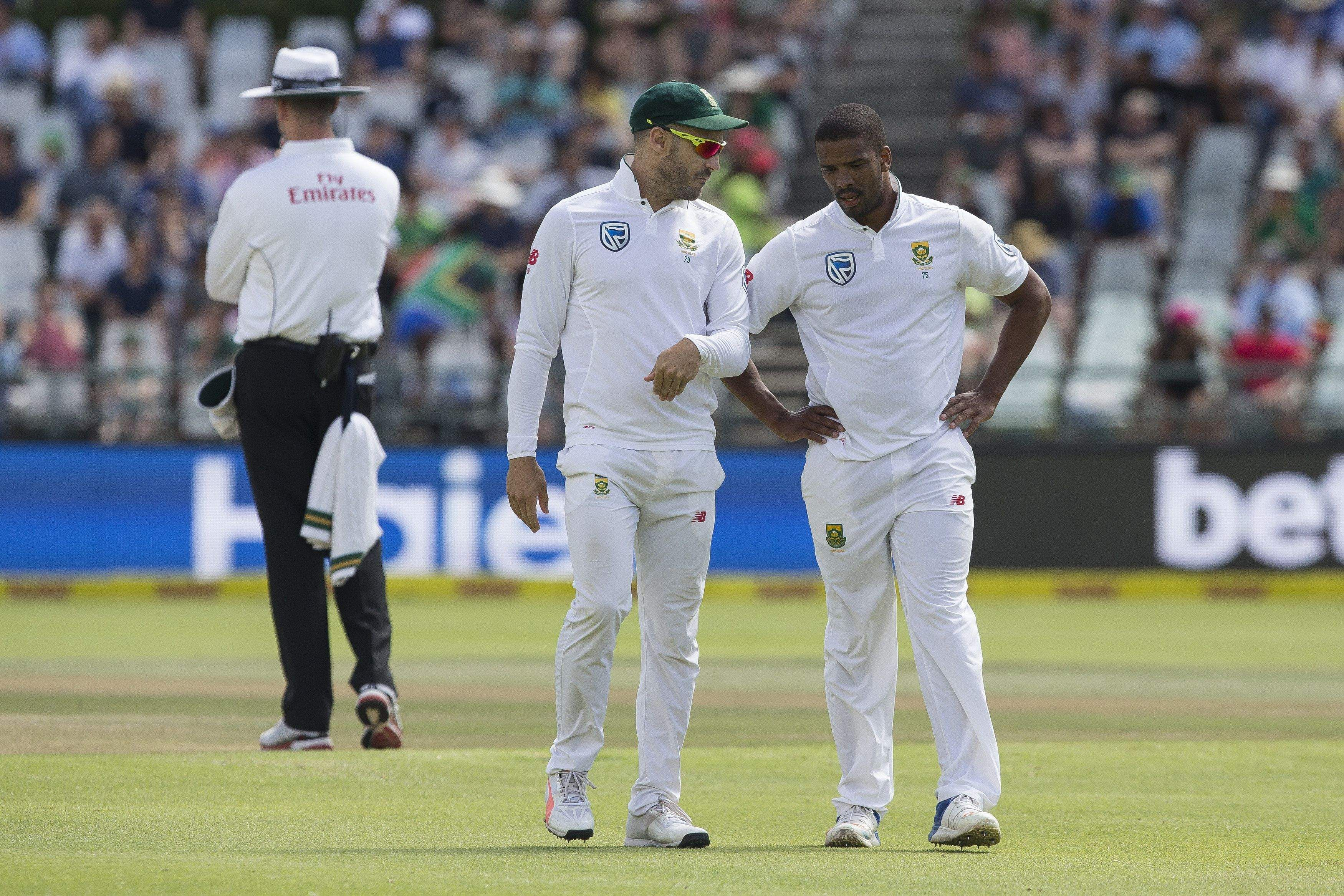 South Africa bowled out for 335 runs in first innings
