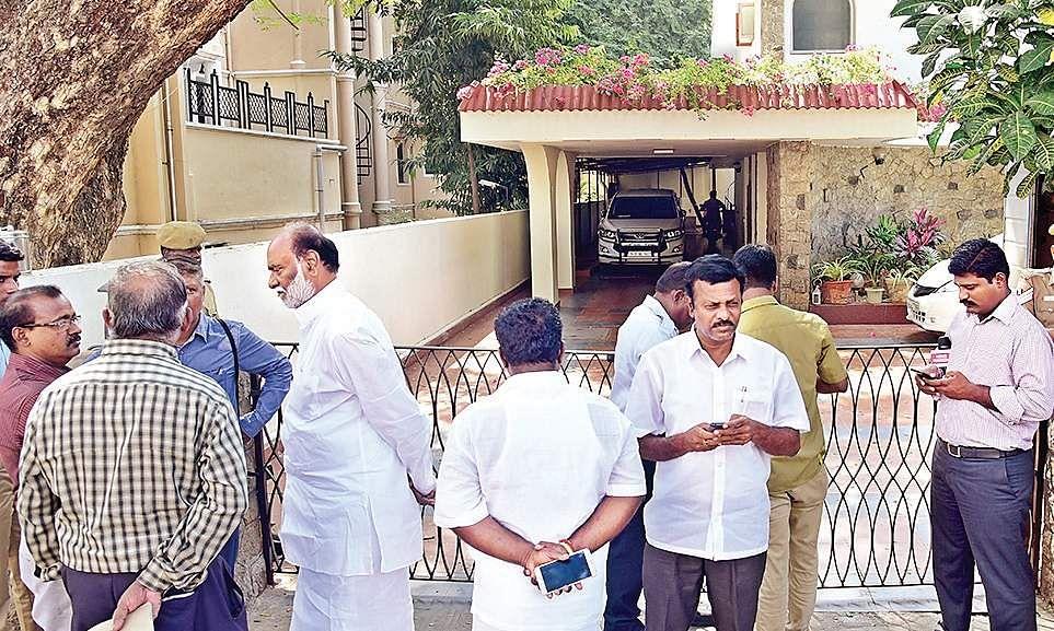 ED raids Karti Chidambaram's properties in Delhi, Chennai