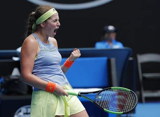 Australian Open: Ostapenko survives battling Schiavone test
