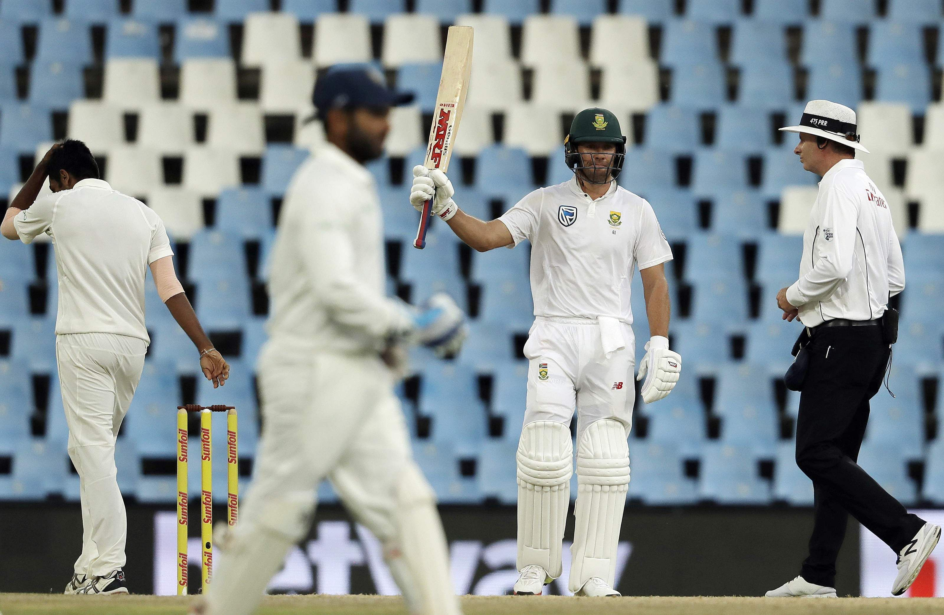 Africa beat India by 135 runs in 2nd Test