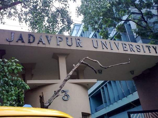 Jadavpur University Students Protest Against Bill Dissolving Students' Union