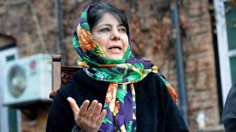Be humane, Mehbooba tells security forces