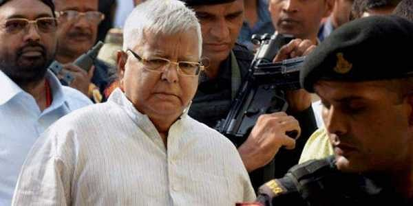 Lalu Yadav granted 5 day parole to attend son's wedding