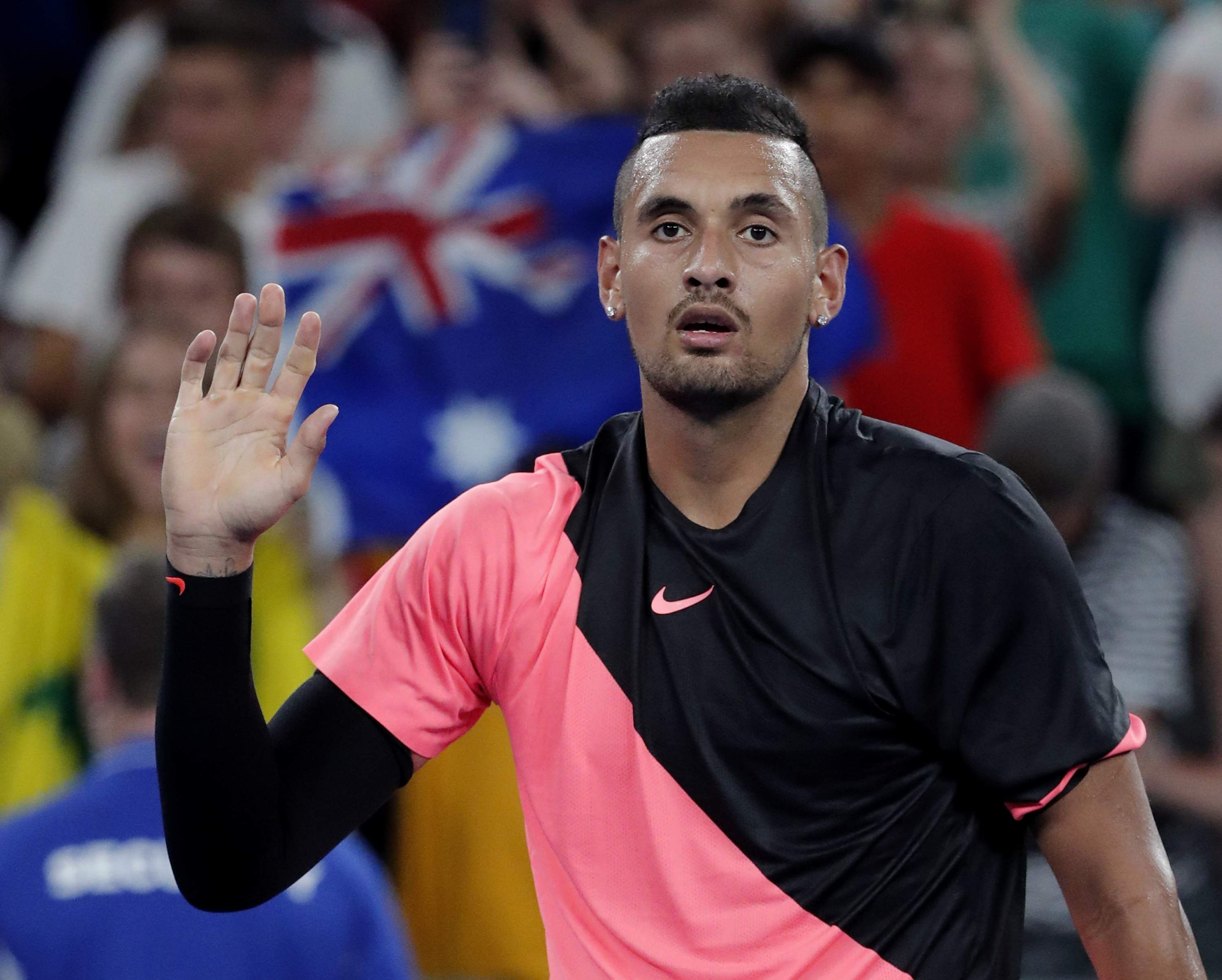 Nick Kyrgios fined for foul-mouthed tirade