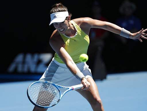 Wimbledon champion Garbine Muguruza OUT of the Australian Open