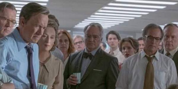 THE POST Steven Spielberg's Oscar-tipped newspaper drama stars Meryl Streep and Tom Hanks in the lead.