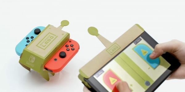 Nintendo thinks inside the box with cardboard Switch accessory for Labo