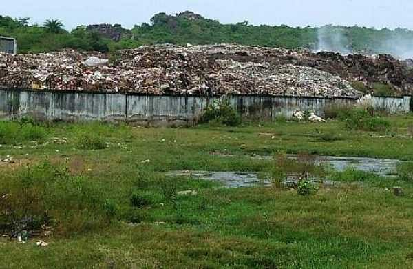 The site for solid waste management  | Express