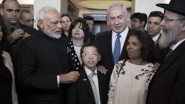 Israeli PM Unveils Memorial at Mumbai Jewish Center to Terror Victims