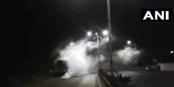 Two women hospitalised, village evacuated after ammonia gas leak in Goa