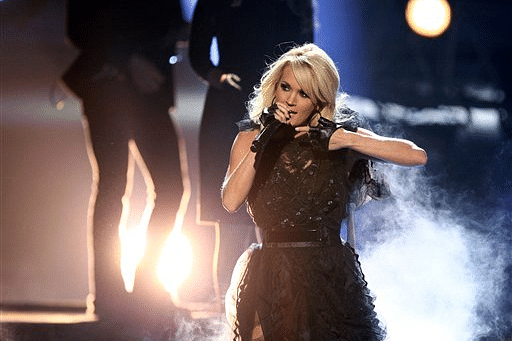 Carrie Underwood says she's 'not quite looking the same' after fall