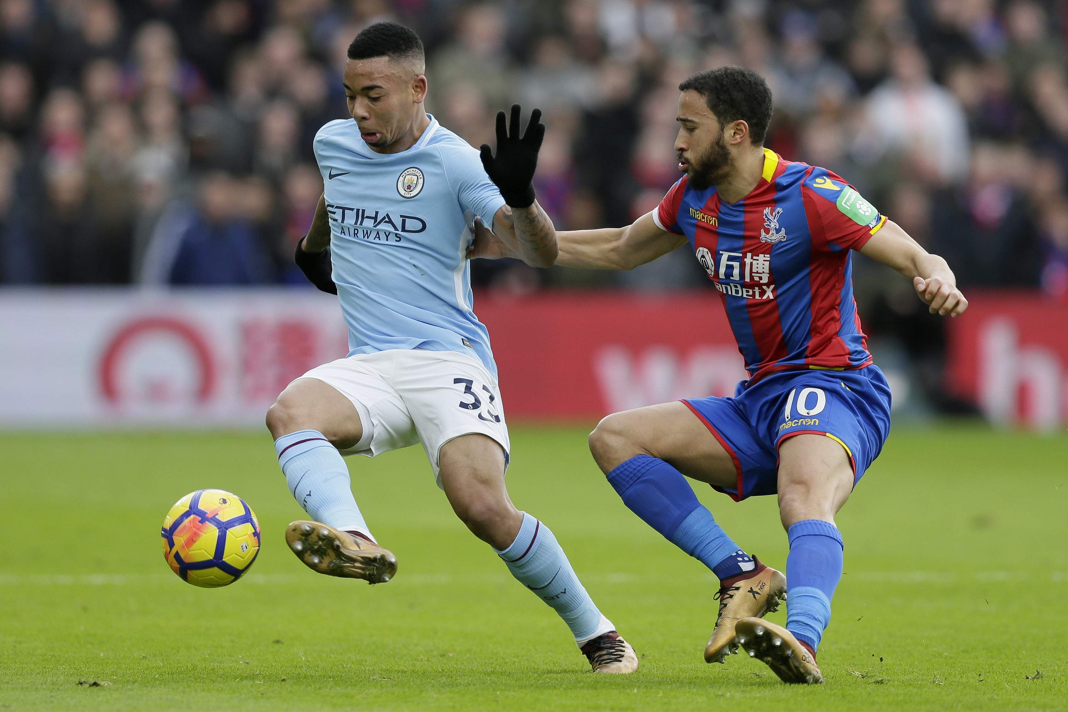 Gabriel Jesus faces lengthy spell on sidelines with knee ligament injury