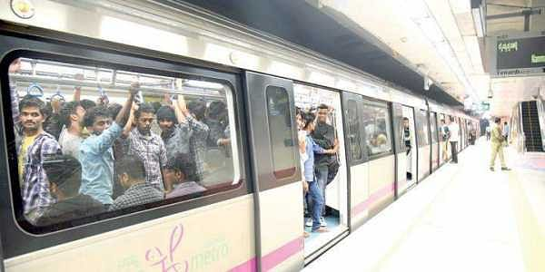 Hiked fare of Bengaluru Metro on New Year Eve irks many- The