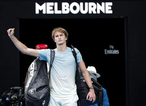 Zverev knocked out of Australian Open