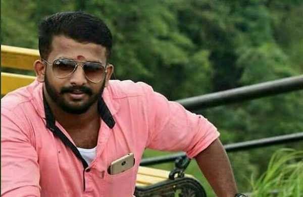 Slain ABVP activist Shyam Prasad (Twitter/KummanamRajasekharan)
