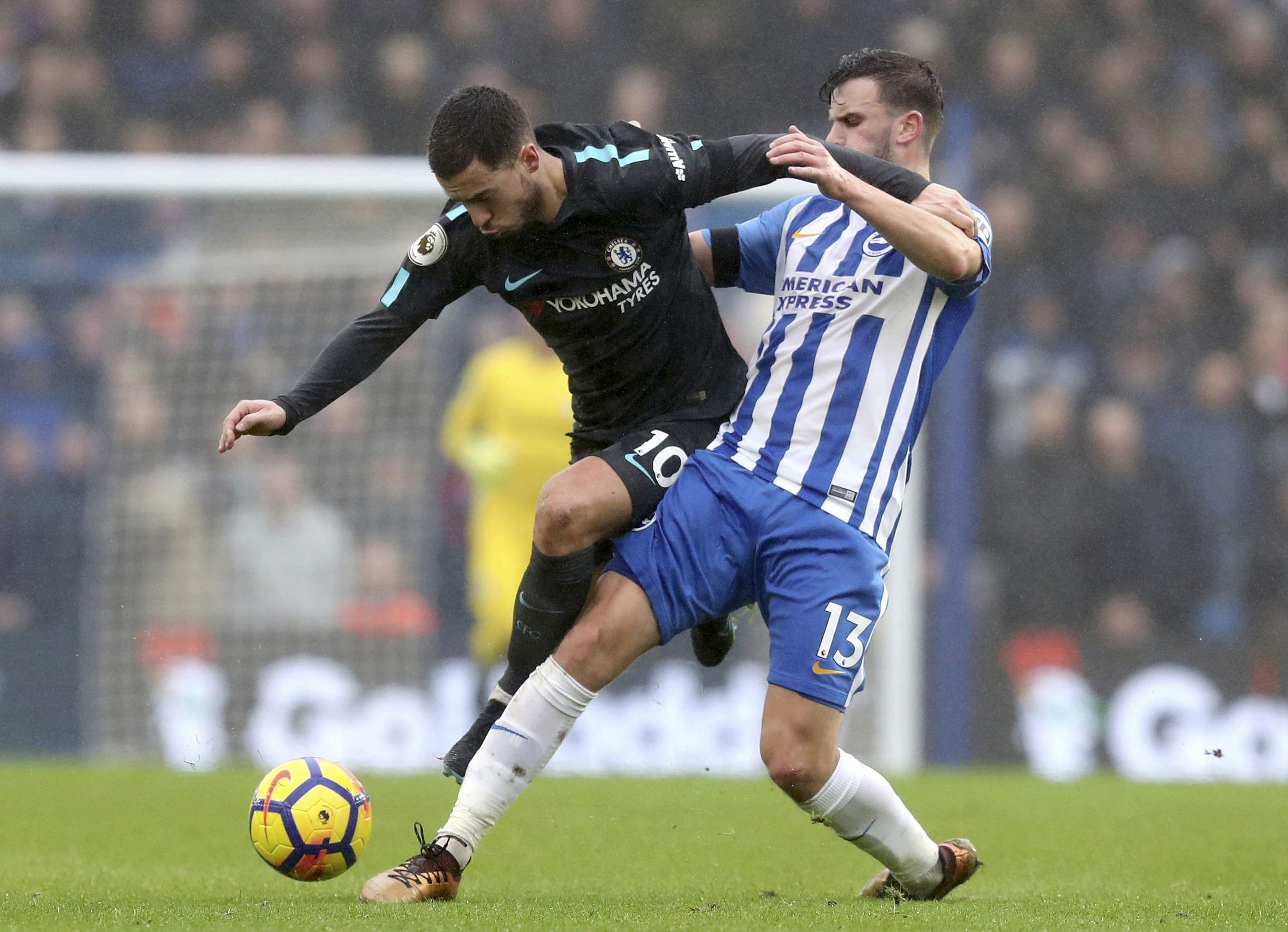 Eden Hazard Insists Chelsea Don't Need Another Striker In January