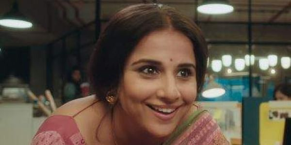 Vidya Balan charmed her fans with her performance in 'Tumhari Sulu' and won the award for Best Actress. (Photo | YouTube)