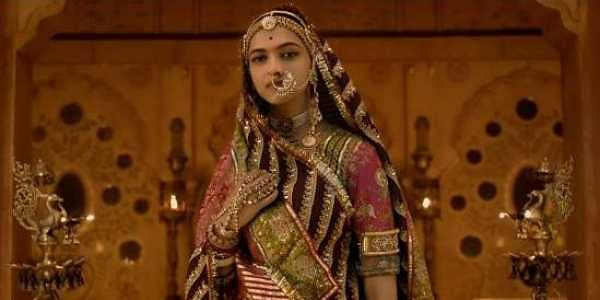 Deepika Padukone as Padmavati. (Photo | Youtube screengrab)