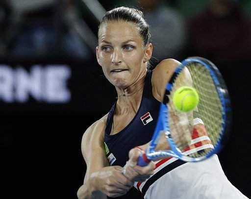 Pliskova rallies to reach Open quarter-finals