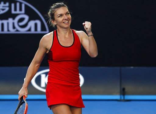 Top Seed Halep Eases Into Australian Open Quarter Final