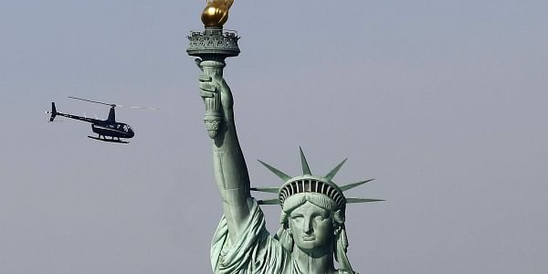 Wont Stand By As Symbol Of Freedom Goes Dark New York Vows To