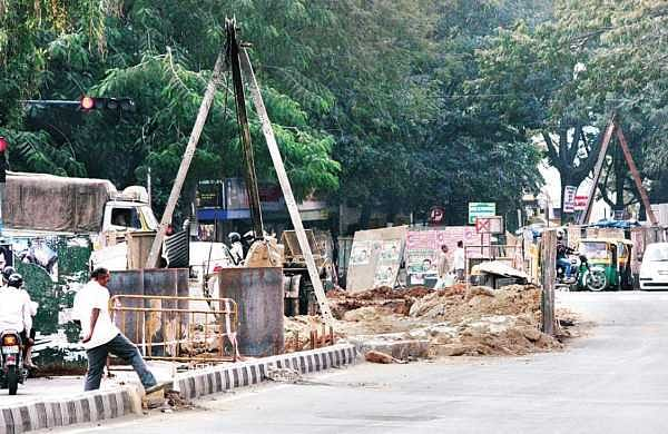 Court refused to stay construction of steel flyover at Shivananda Circle following an interlocutory application filed by locals | S Manjunath