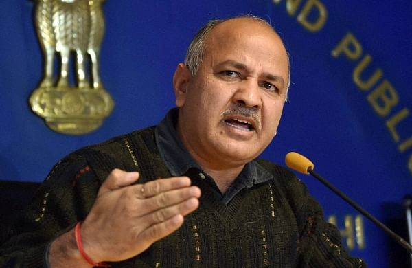 Delhi Deputy Chief Minister Manish Sisodia (File | PTI)