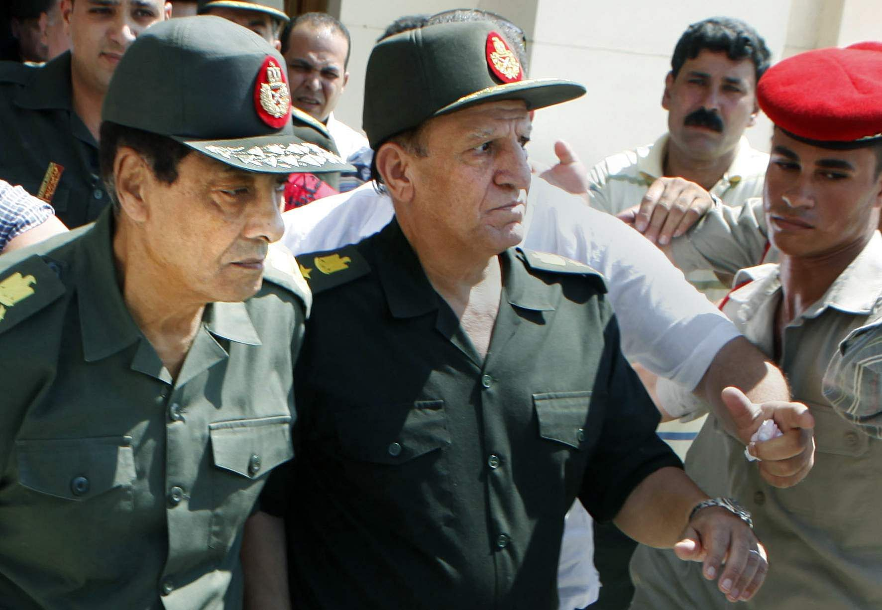 Egypt military accuses presidential hopeful of committing crimes