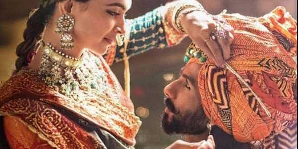 Deepika Padukone and Shahid Kapoor in a still from 'Padmaavat.'