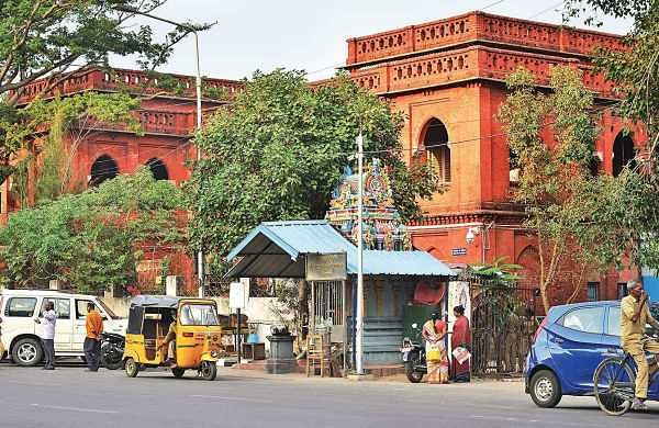 The Saidapet Magistrate Court is one of the places found short on facilities for visitors who complain of poor maintenance | Sunish P Surendran