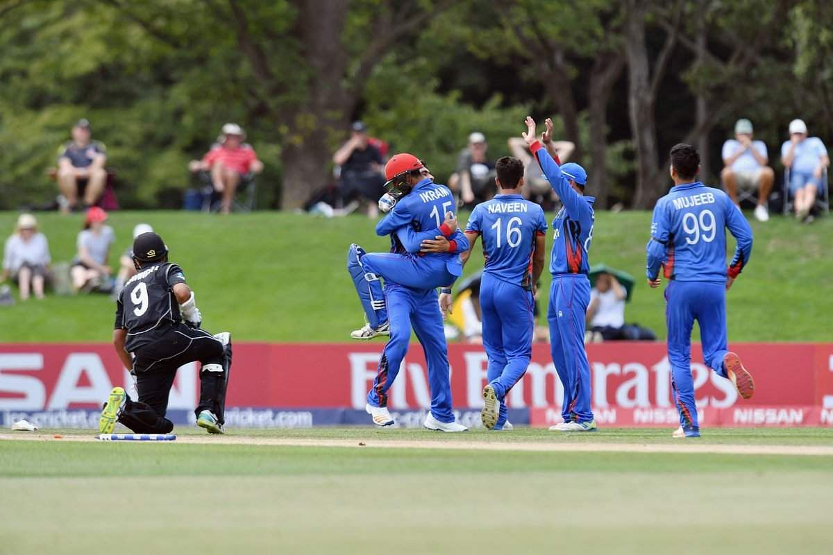 Afghanistan U19 Through To Semifinals After Beating New Zealand