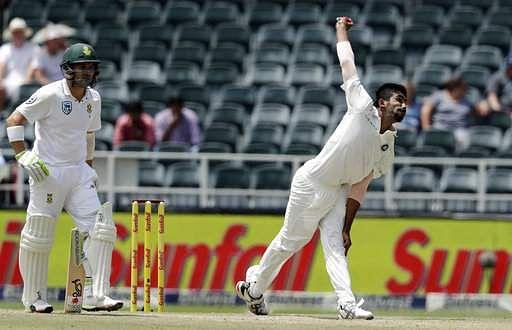 Bumrah's five-wicket haul swings third test in India's favour