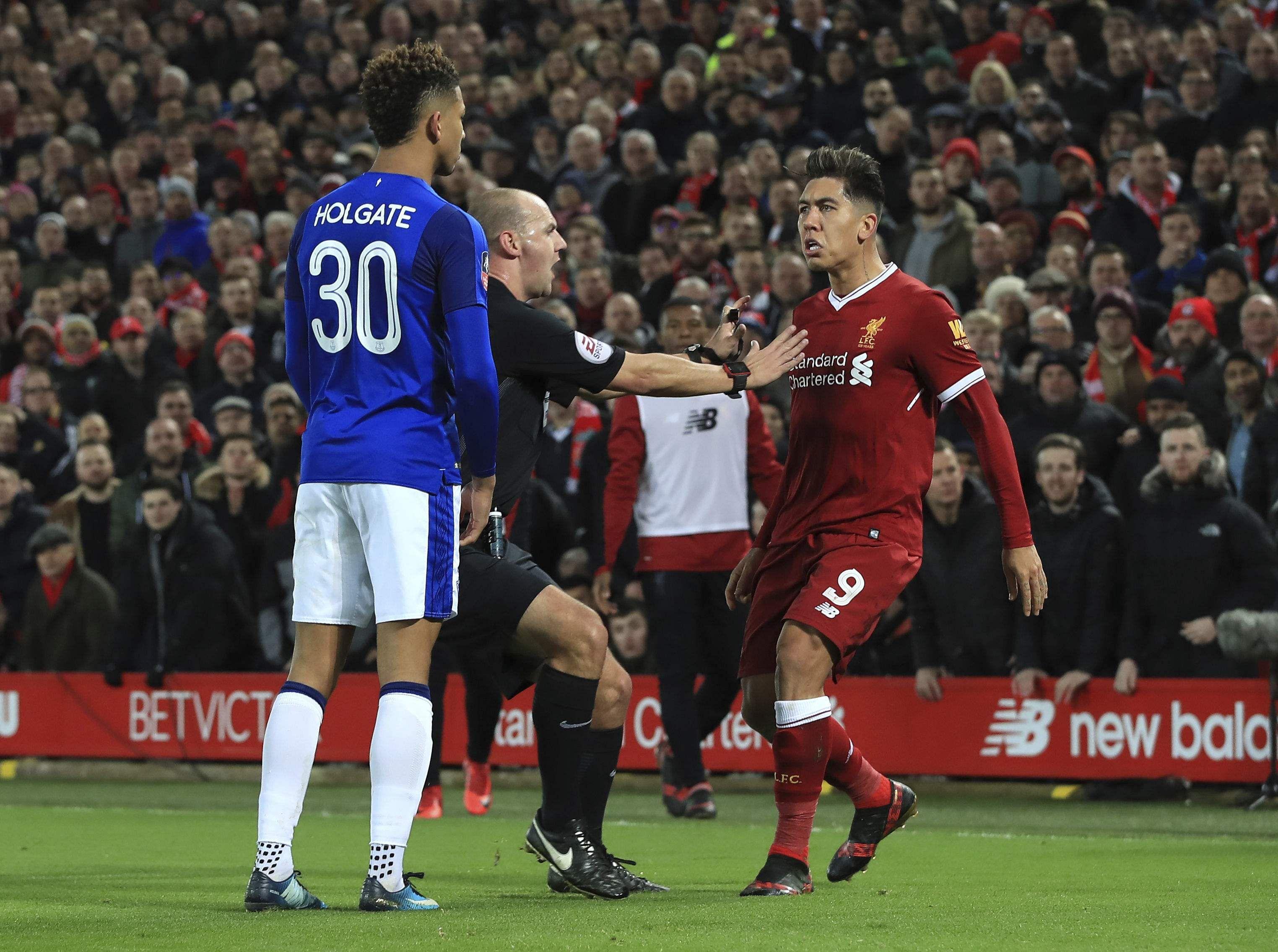 Roberto Firmino racism allegations overshadow Liverpool win over Everton