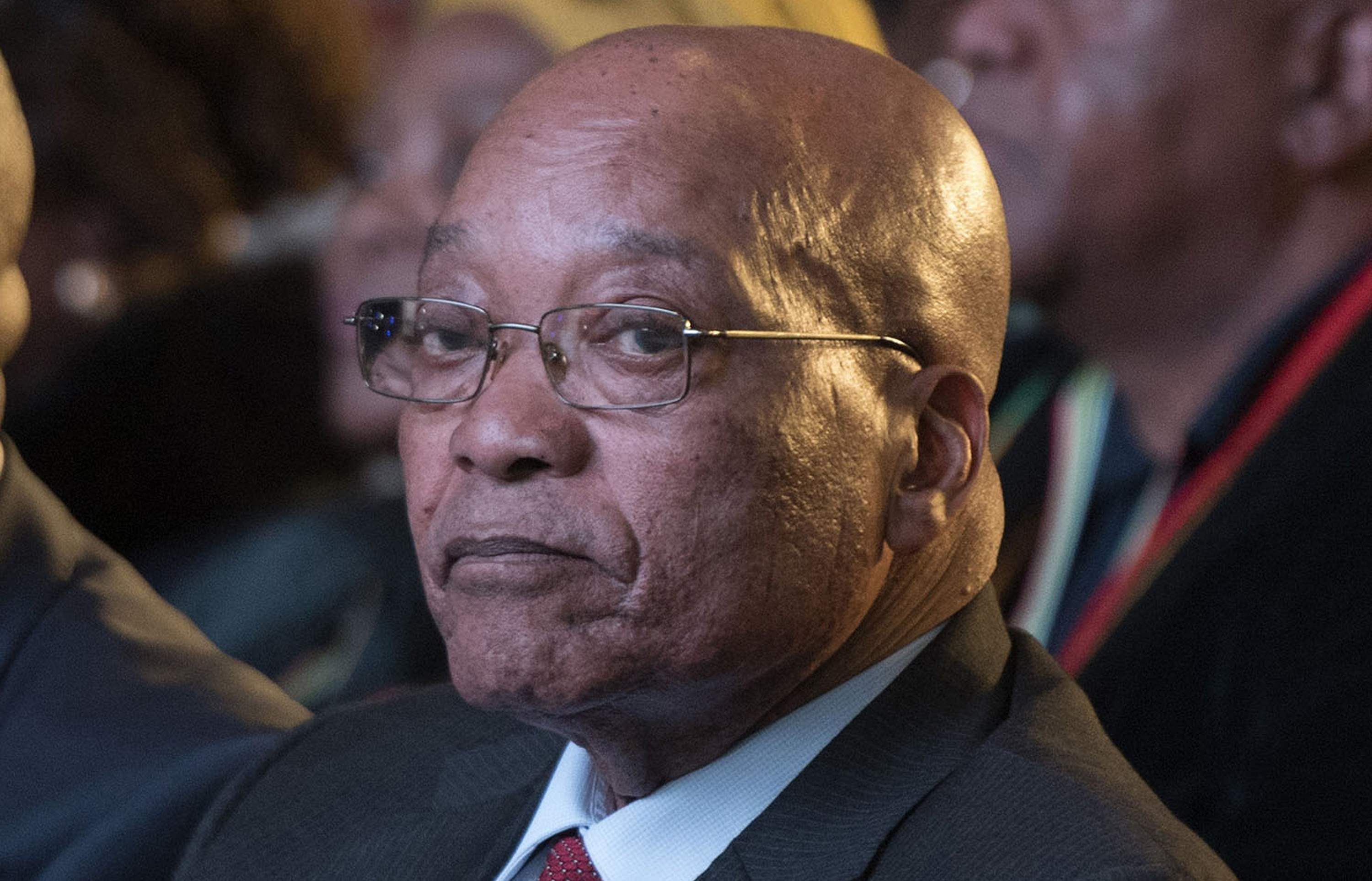 South Africa's Zuma Announces Inquiry Into Alleged