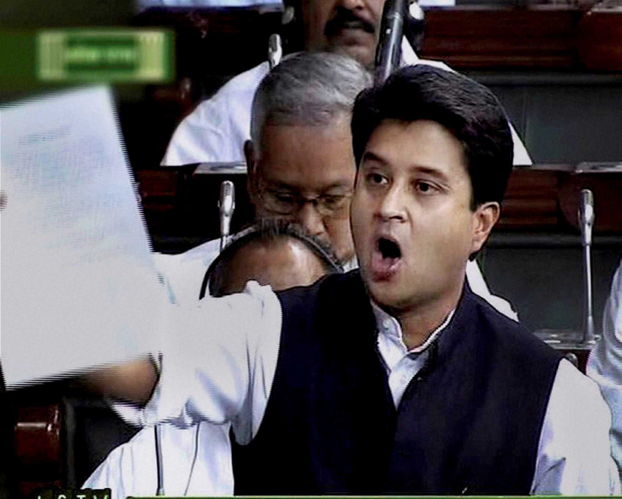 BJP leader sparks row with threat to Jyotiraditya Scindia
