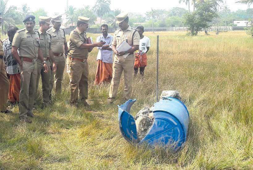 Skeletal remains found inside barrel in Kochi