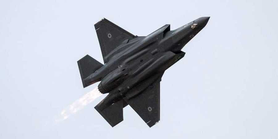 In this file photo taken on December 27, 2017, an Israeli Air Force F-35 Lightning II fighter jet performs during an air show at the graduation ceremony of Israeli air force pilots at the Hatzerim Israeli Air Force base in the Negev desert, near the southern Israeli city of Beer Sheva. (File | AFP)