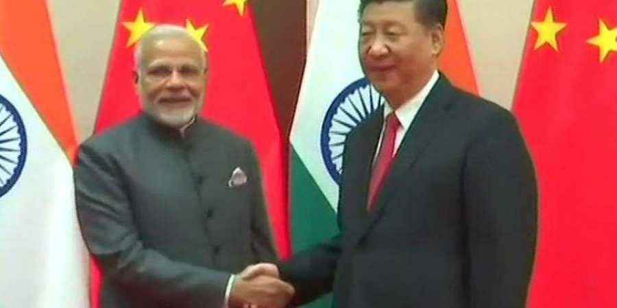 Prime Minister Narendra Modi met Chinese President Xi Jinping. (File | ANI)