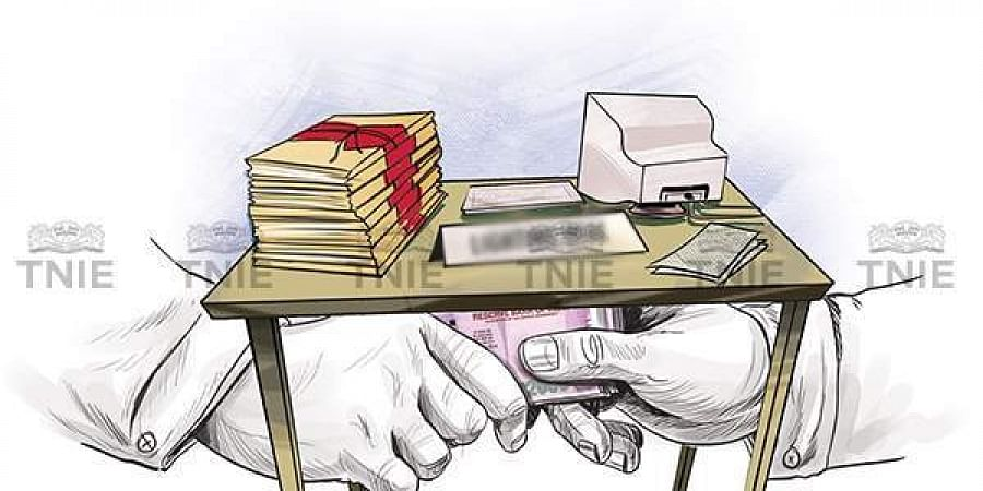 Transparency survey reveals corruption rising in India- The New Indian  Express