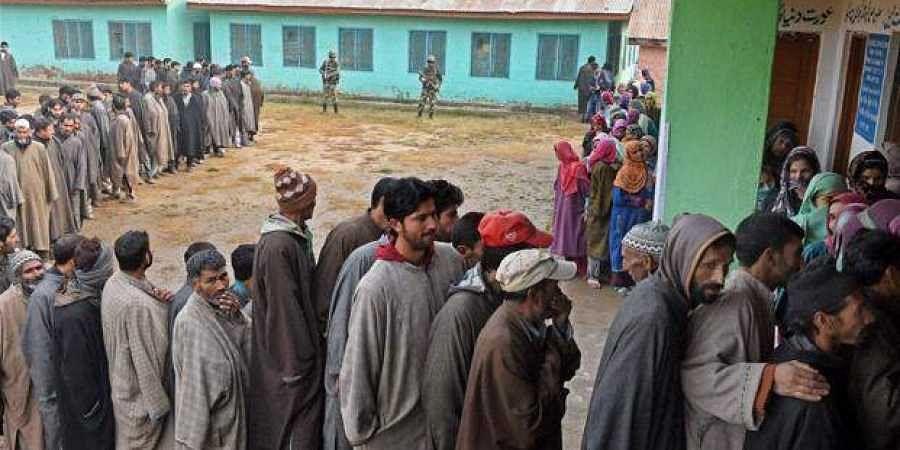 Kashmir voters