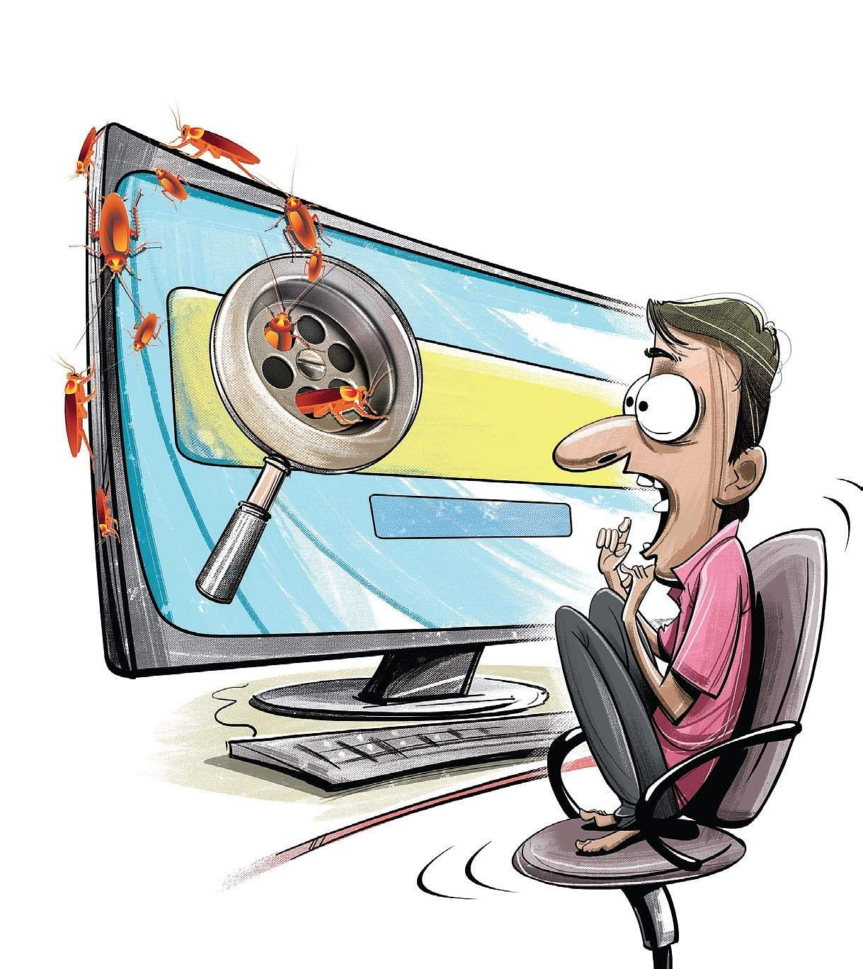 Google, Internet scam, Malware