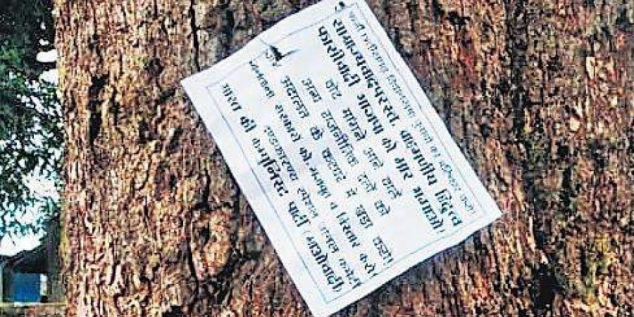Maoists notice