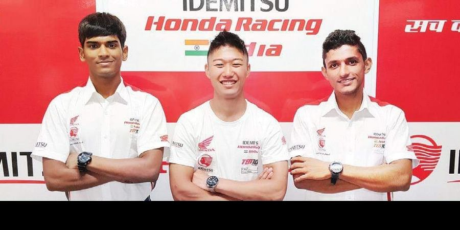 Honda Racing India team