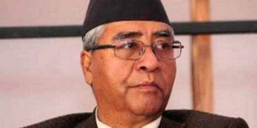 Nepali Congress President Sher Bahadur Deuba.  PTI
