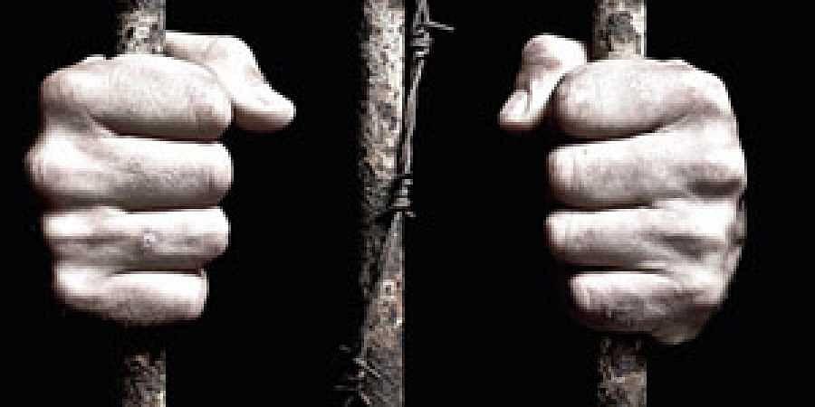 jail, prison, behind bars
